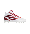 Adidas Freak Carbon Mid - Red - American Football Cleats